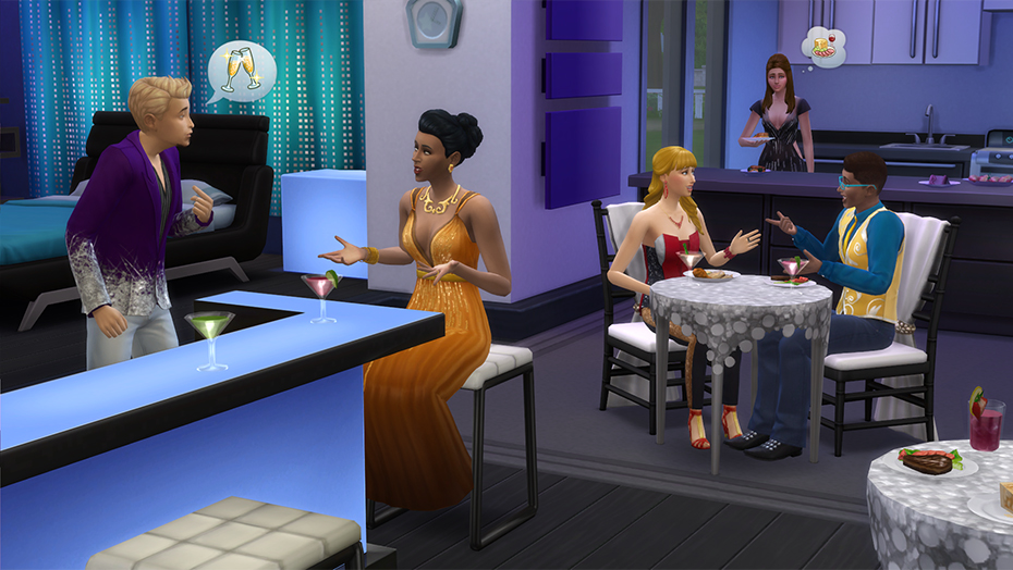 The Sims 4 Feste di Lusso Stuff Pack
