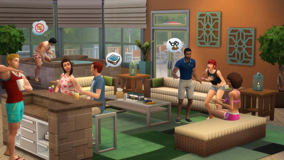The Sims 4 Esterni da Sogno Stuff Pack