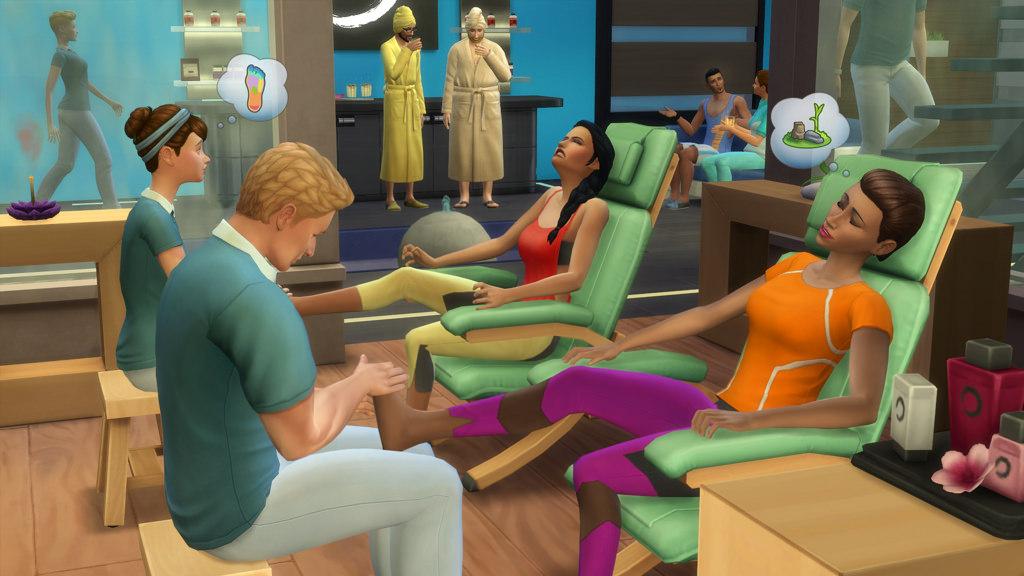 Sims Bambino Bagno : The sims 4 un giorno alla spa guida completa simsworld