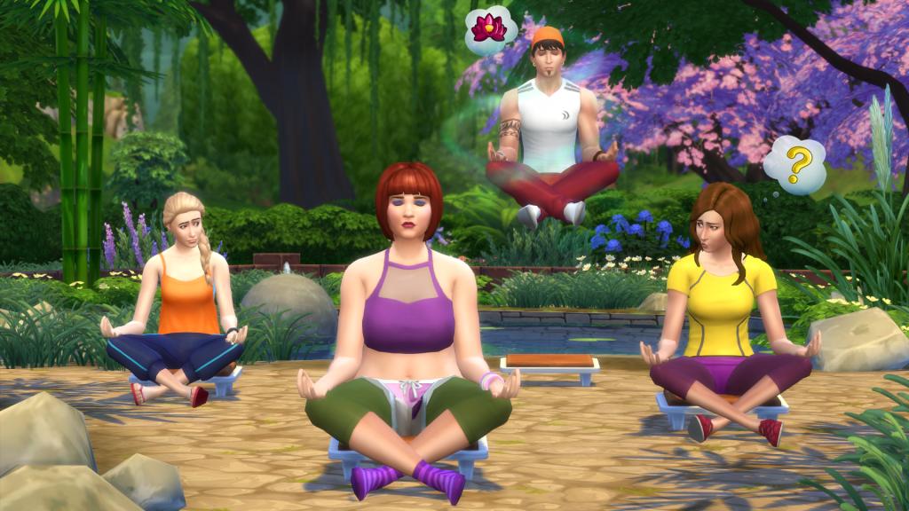 The Sims 4 Un giorno alla Spa Game Pack