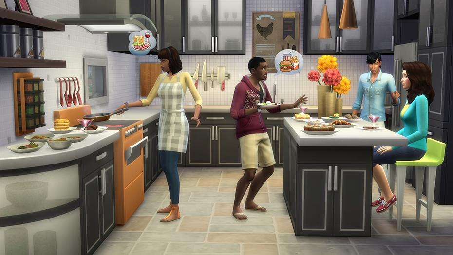 The Sims 4 Cucina Perfetta Stuff Pack