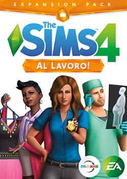 The Sims 4 Al Lavoro! Expansion Pack