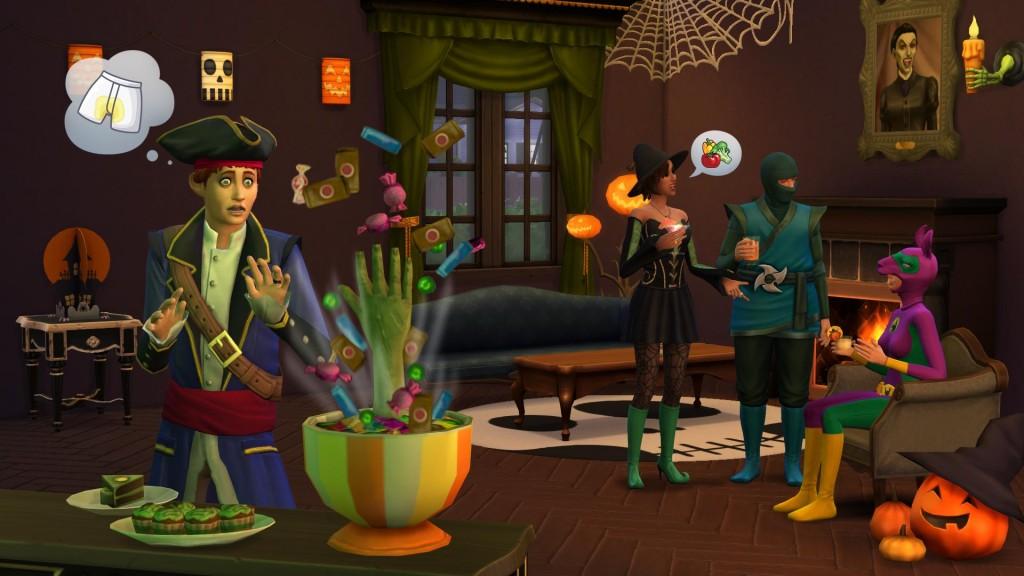 The Sims 4 Acessori da Brivido Stuff Pack