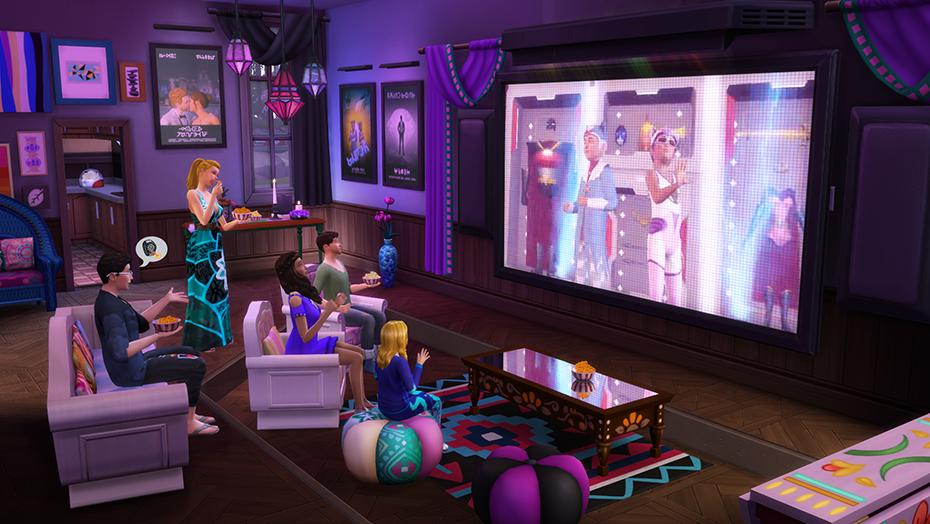 The Sims 4 Serata Cinema Stuff