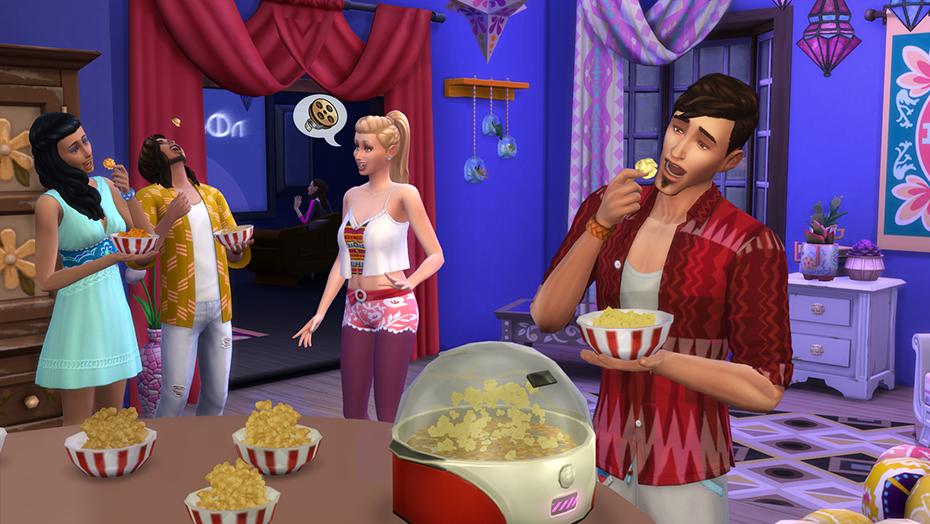 The Sims 4 Serata Cinema Stuff3